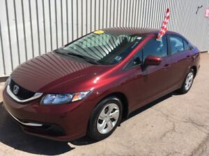 2014 Honda Civic LX EXCELLENT CONDITION | FACTORY WARRANTY |...