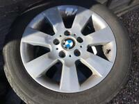 Genuine bmw Alloy wheels and tyres 205/55/16