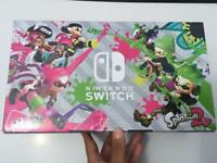 Nintendo Switch Neon and Splatoon 2 console (limited edition)