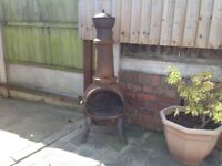 For sale cast iron chimney in used condition