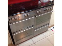 Diplomat 110cm Dual Fuel Range cooker/ Can deliver if needed