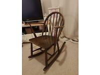 Original 1965 Ercol Windsor rocking chair