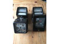 4 electricity meters sold as seen