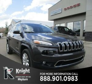 2015 Jeep Cherokee Limited NAV Heated/Cooled Leather 1Tax