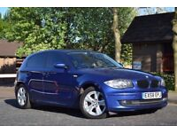 2008 BMW 118d SE Hatchback 5dr Diesel Manual STUNNING BLUE LONG MOT MANY EXTRAS