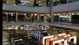 Retail unit, business unit for rent inside the shopping mall
