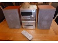 SONY CMT-NEZ7DAB DAB/FM/AM RADIO/CD/CASSETTE MICRO SYSTEM WITH FULL REMOTE CONTROL