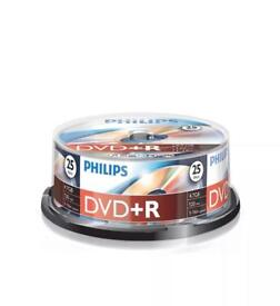 Phillips DVD recordable discs