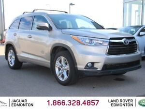 2015 Toyota Highlander Limited All-wheel Drive - Local One Owner