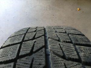 Blizzak winter ws60 tires on rims. 205/60/16. 114.3 by 5
