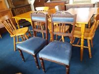 Pair of Vintage Bedroom Chairs
