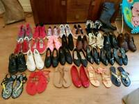 29 pairs of shoes