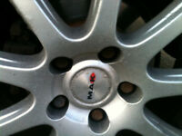 "Swap Hyundai Coupe 2.0 17"" low profile Alloy Wheels for standard ones"