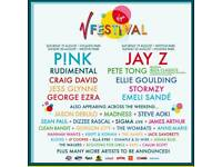 V Festival x2 Weekend Camping Tickets
