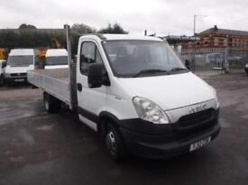IVECO DAILY 35C13 EXTRA LWB PICK UP, White, Manual, Diesel, 2012
