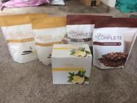Juice plus shake powder and booster sachets