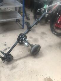 electric golf trolley no battery