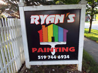 RYANS PAINTING; DARE TO COMPARE; CALL MIKE 519-503-7017