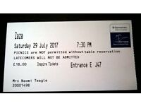 Opera Holland Park Zaza 29th July 2017 £18 Inspire ticket J-47 Final day of 2017 OHP season!