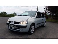 *!*BARGAIN*!* 2004 Renault Clio 1.2 16v Expression **FULL YEARS MOT** **TIMING BELT REPLACED AT 88k*