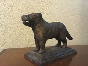 Antique Cast Iron Dog Nutcracker!