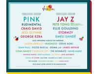V festival weekend tickets 19-20th hylands park