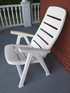 Chaise patio pliable