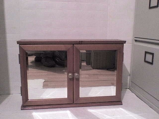 Bathroom Mirror Gumtree 2 wooden bathroom mirror wall units | in staines-upon-thames
