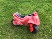 Child's Motorbike Roller