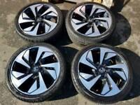 Honda crv diamond cut rims