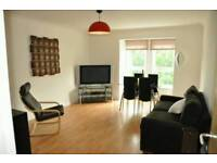 2 bed flat in Strathbungo near Pollockshields East train station (1 stop from town).