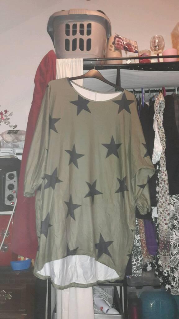 Plus size 26 tunic