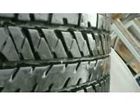 "Bridgestone 22"" 275x50 4 tyres in excellent condition"