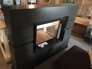 Dimplex df3033st fireplace and mantle