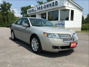 2010 Lincoln MKZ *Heated/Cooled leather bkts  Sync  Sirius