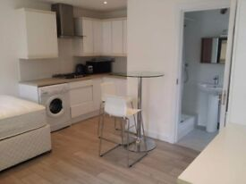 newly refurbished ensuite, studio, double room