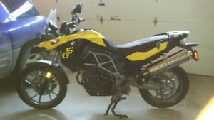 2012 BMW F650 GS Special Edition 800cc