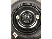 "Genuine Ford Fiesta 15"" Space Saver Wheel And Tyre. 2012 models onwards. Brand new unused"