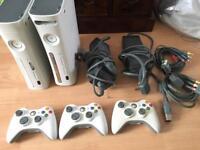 Xbox X2 360 plus games