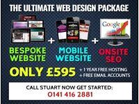 Glasgow / UK Web Designer - High quality websites, Affordable prices!