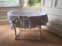 Barely used Baby Bassinet