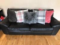 Black Leather Sofa Free