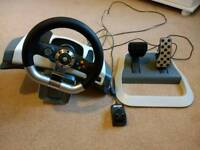 Microsoft Official Xbox 360 Steering Wheel