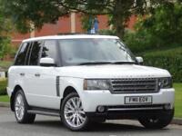 Range Rover 4.4 TDV8 2011 Autobiography..FUJI WHITE + JET+PIMENTO LEATHER