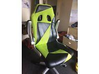 Race car style desk chair