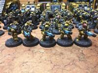 Warhammer 40k/30k plasma squad