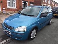 2003 Vauxhall corsa 1.2 16v 96k clean car 8 months mot new timing chain and oil change