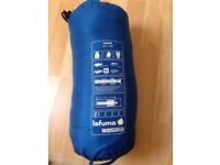 2 x Lafuma Canoe Sleeping Bag with mat, mint condition. Price listed for single bag