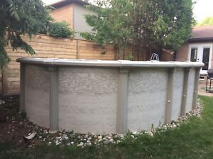 12ft x 18ft Above Ground Pool with Equipment