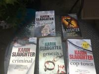 Karen Slaughter book bundle